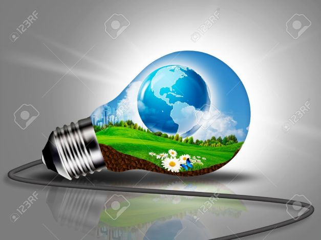 21086767-Sustainable-Development-and-eco-energy-concept-Stock-Photo